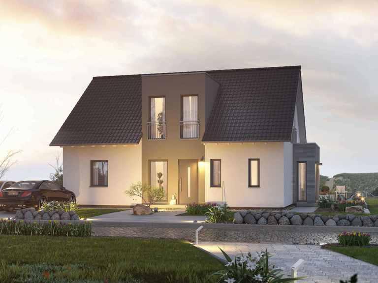 Zweifamilienhaus FamilyStyle 17.01 S - massa haus