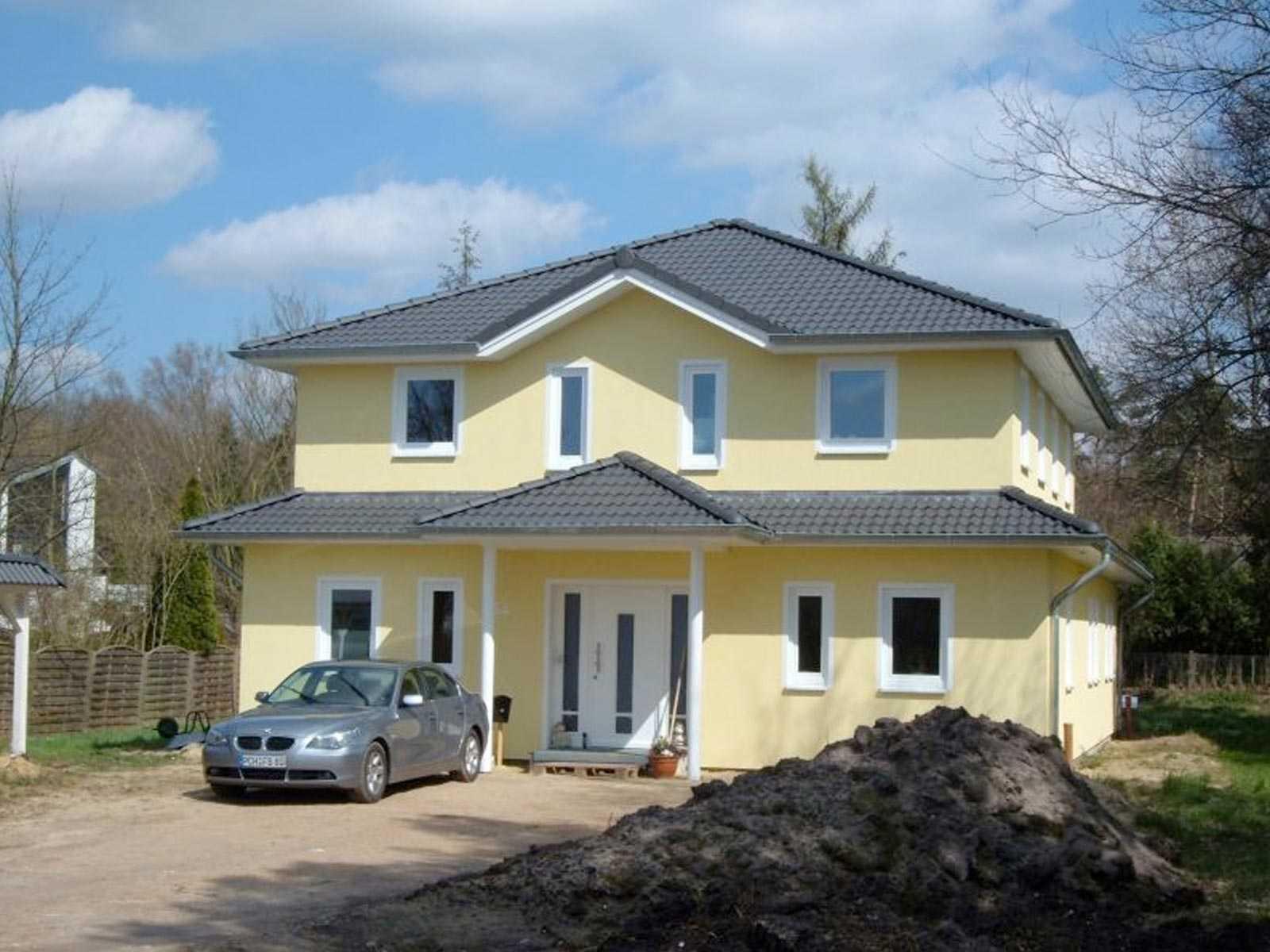 Haus lesum poggenburg holzbau for Haus bauen muster