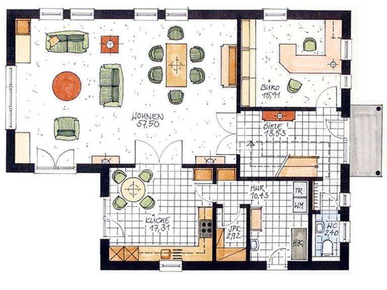 Haus Lesum Grundriss Erdgeschoss