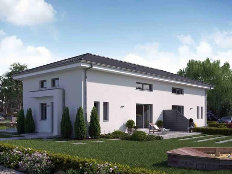 Doppelhaus TwinStyle 13.01 W - massa haus