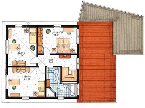 Haus Toscana Grundriss Dachgeschoss