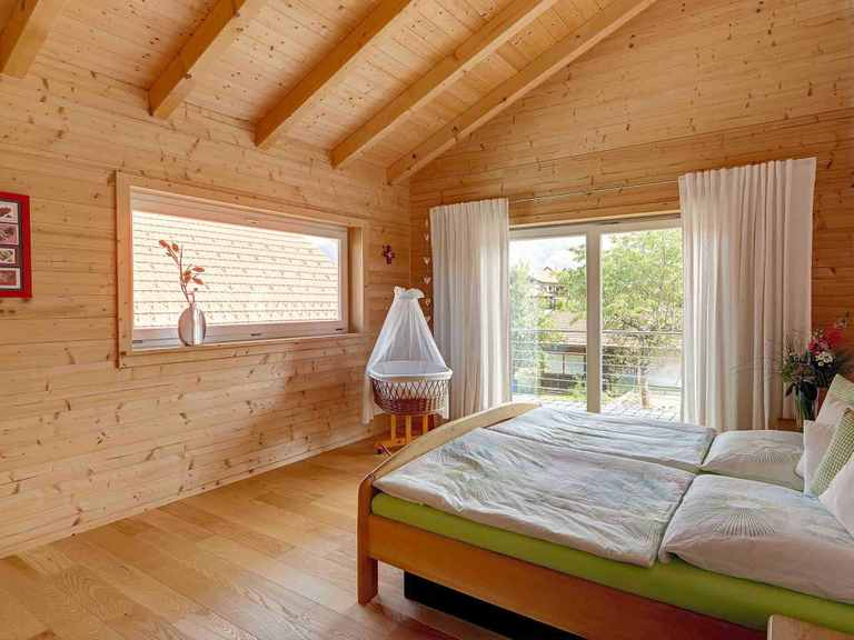 Musterhaus Traunstein Schlafzimmer