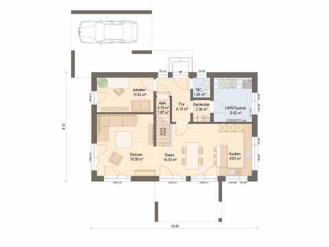 Musterhaus Mannheim Grundriss EG