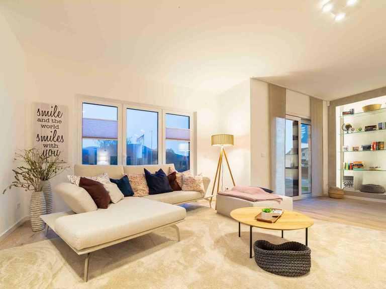 Musterhaus Prestige Wohnzimmer