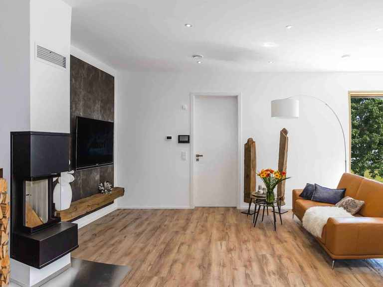Musterhaus Fellbach Elegant 168 Wohnzimmer