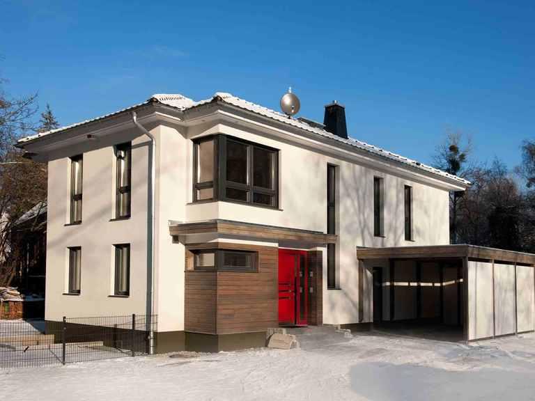 Musterhaus - Innovationshaus Berlin weitere Außenansicht