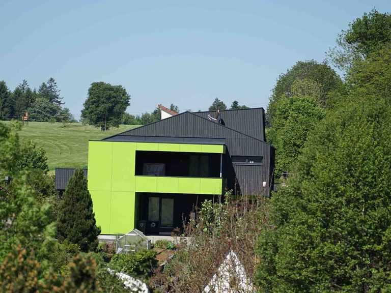 Musterhaus Wohnen der Zukunft - Holzbau Kielwein