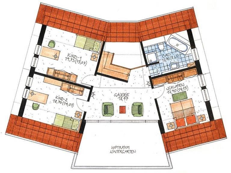 Haus Twistringen Grundriss Dachgeschoss