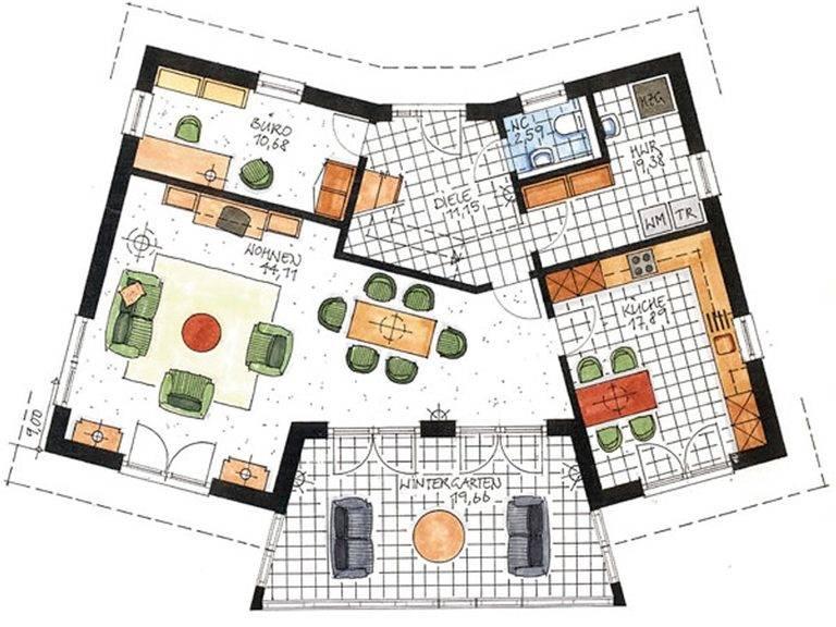 Haus Twistringen Grundriss Erdgeschoss