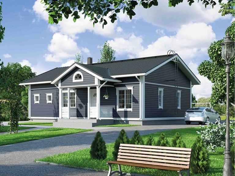 Hausmodell 107 Systemhaus