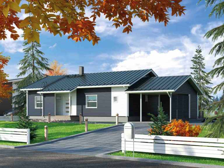 Hausmodell 108  Systemhaus