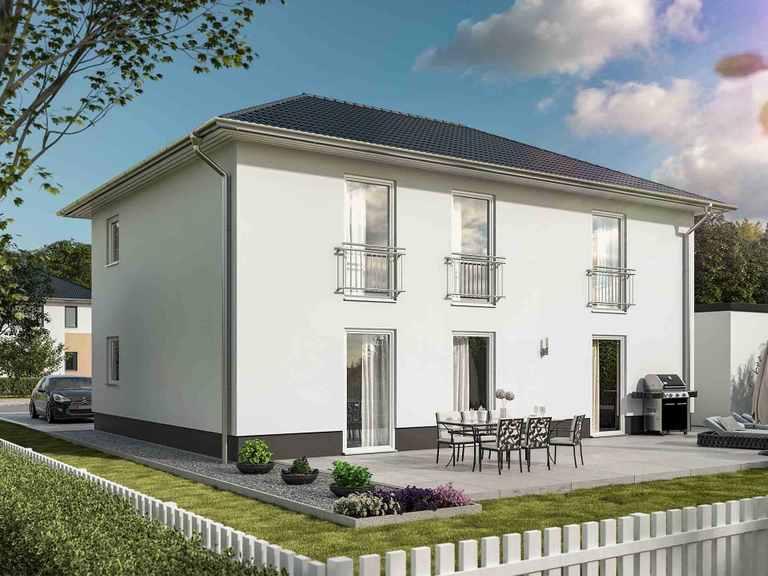 Stadthaus Flair 180 Duo Bauprojektierung Meyer