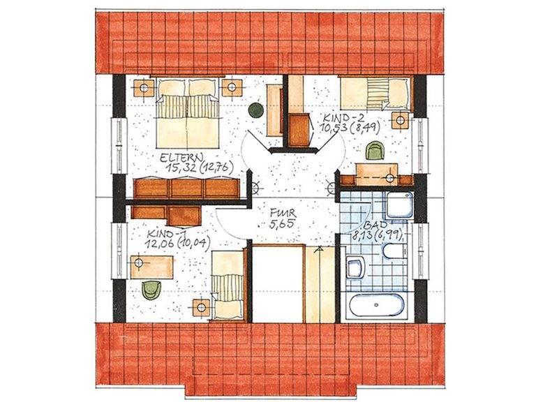 Haus Bremen Grundriss Dachgeschoss