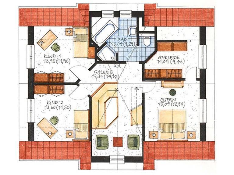 Haus Norderney Grundriss Dachgeschoss