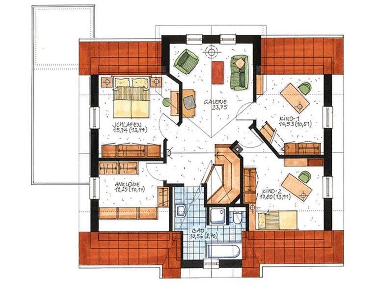 Haus Sylt Grundriss Dachgeschoss