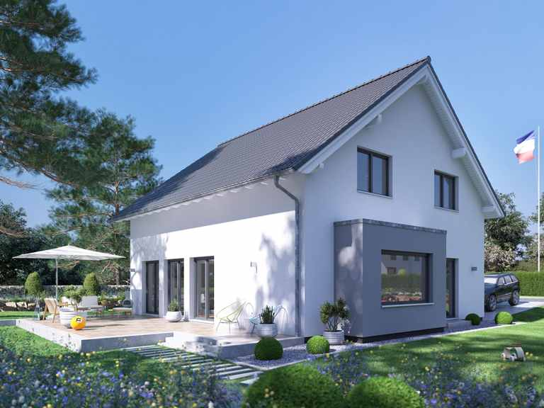 Einfamilienhaus SENTO 400 A S130 - FingerHaus