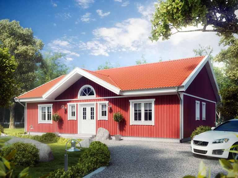 Bungalow Villa Ulf Svenssen - ALADOMO Schwedenhaus