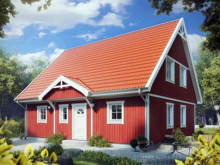 Villa Hanna Knudsen - ALADOMO Schwedenhaus