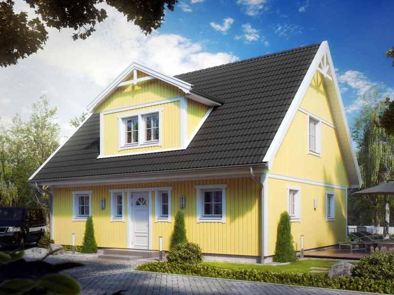 Villa Henrik Knudsen - ALADOMO Schwedenhaus
