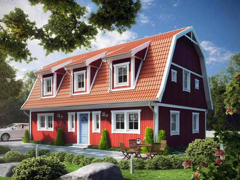 Villa Lucas Lindberg - ALADOMO Schwedenhaus