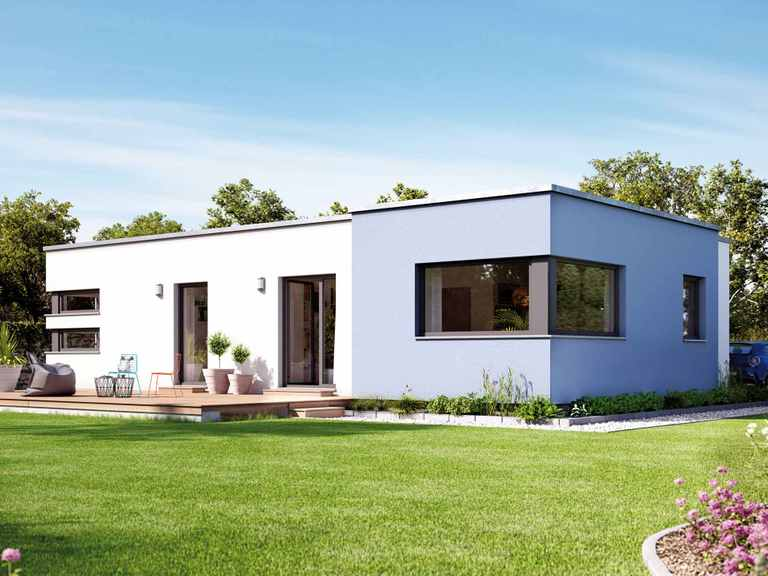 Bungalow SOLUTION 100 V6 - Living Haus