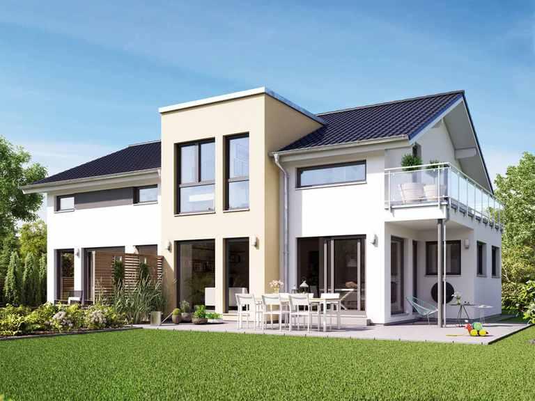 Mehrgenerationenhaus SOLUTION 230 V4 - Living Haus