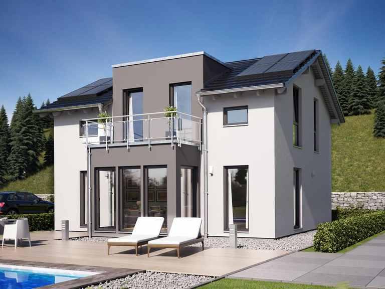 Einfamilienhaus SUNSHINE 125 V4 - Living Haus