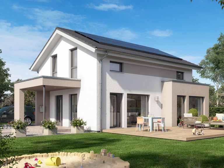 Einfamilienhaus SUNSHINE 125 V5 - Living Haus