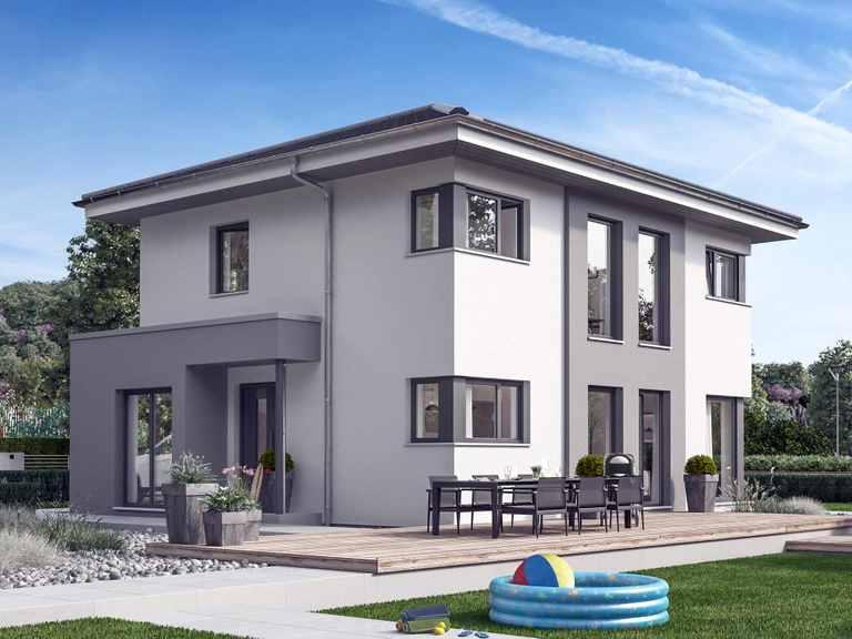 Einfamilienhaus SUNSHINE 125 V6 - Living Haus