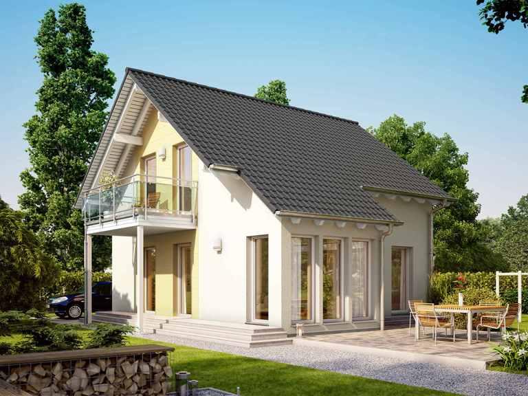 Einfamilienhaus SUNSHINE 113 V2 - Living Haus