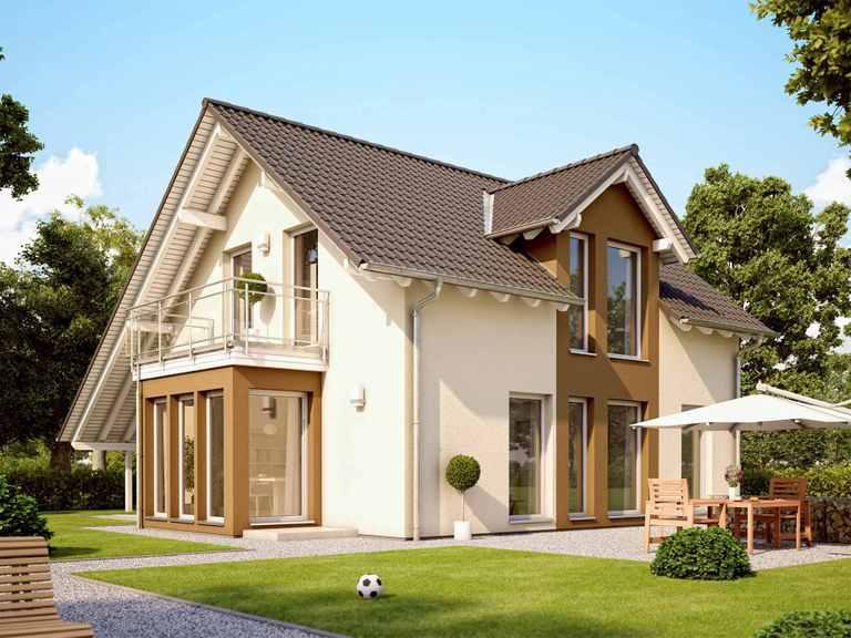 Einfamilienhaus SUNSHINE 113 V3 - Living Haus