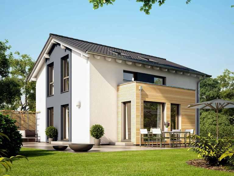 Einfamilienhaus SUNSHINE 113 V5 - Living Haus