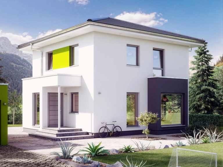 Einfamilienhaus SUNSHINE 113 V6 - Living Haus