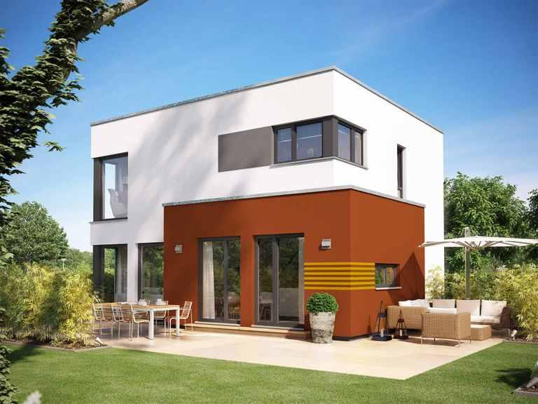 Einfamilienhaus SUNSHINE 113 V8 - Living Haus