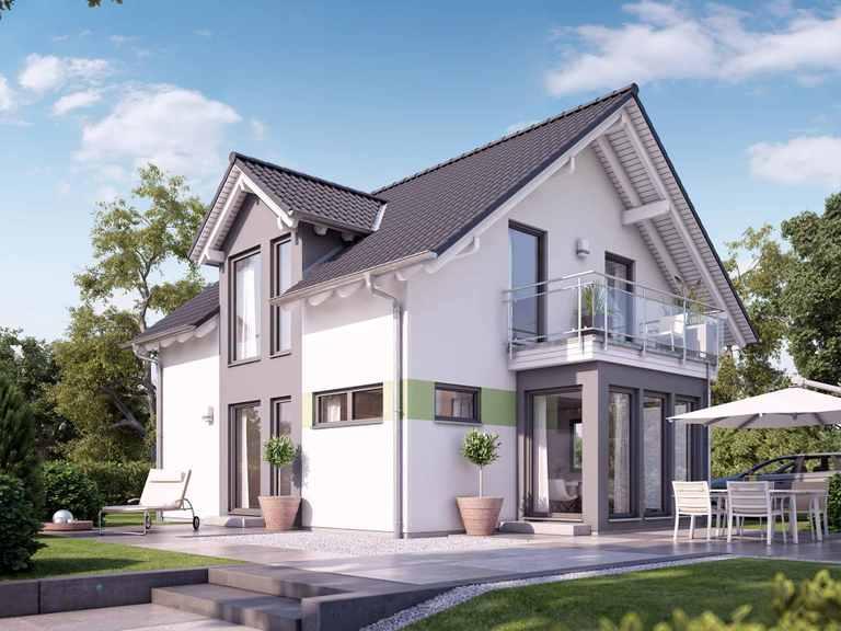 Einfamilienhaus SUNSHINE 126 V2 - Living Haus
