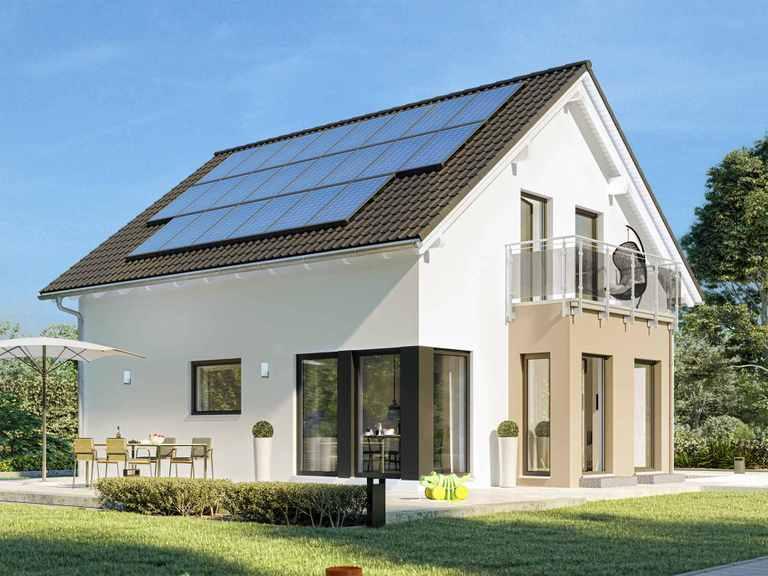 Einfamilienhaus SUNSHINE 126 V3 - Living Haus