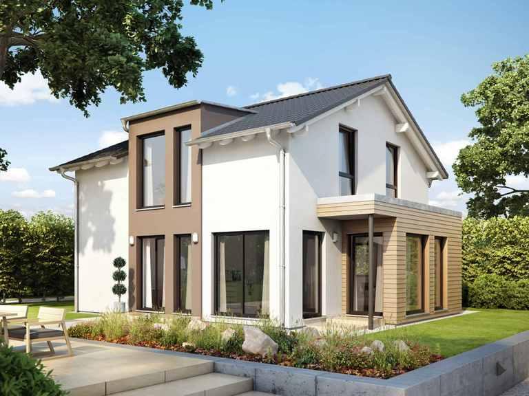 Einfamilienhaus SUNSHINE 126 V5 - Living Haus