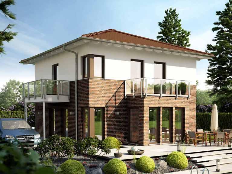 Einfamilienhaus SUNSHINE 126 V6 - Living Haus