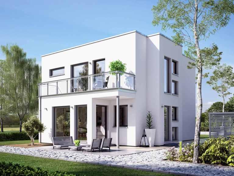 Einfamilienhaus SUNSHINE 126 V8 - Living Haus