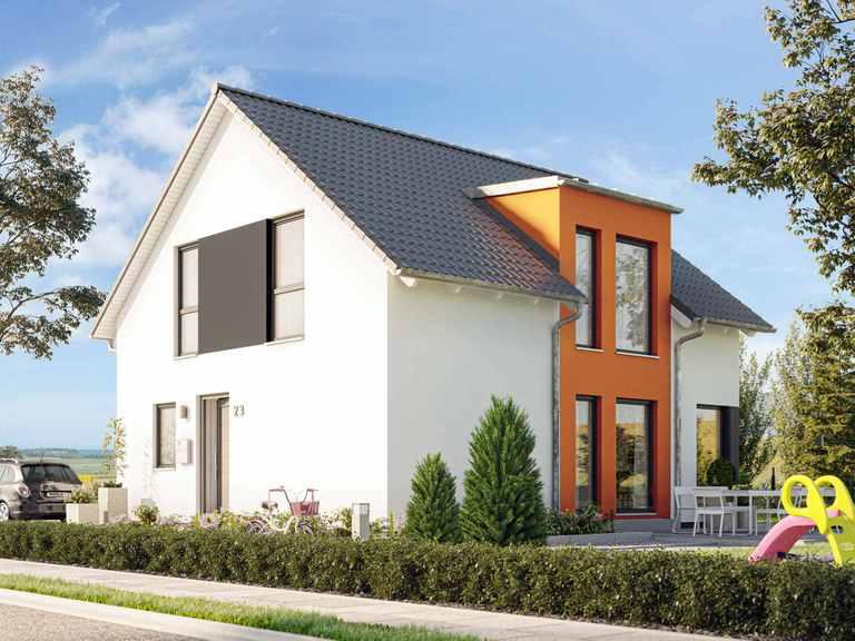 Einfamilienhaus SUNSHINE 136 V3 - Living Haus