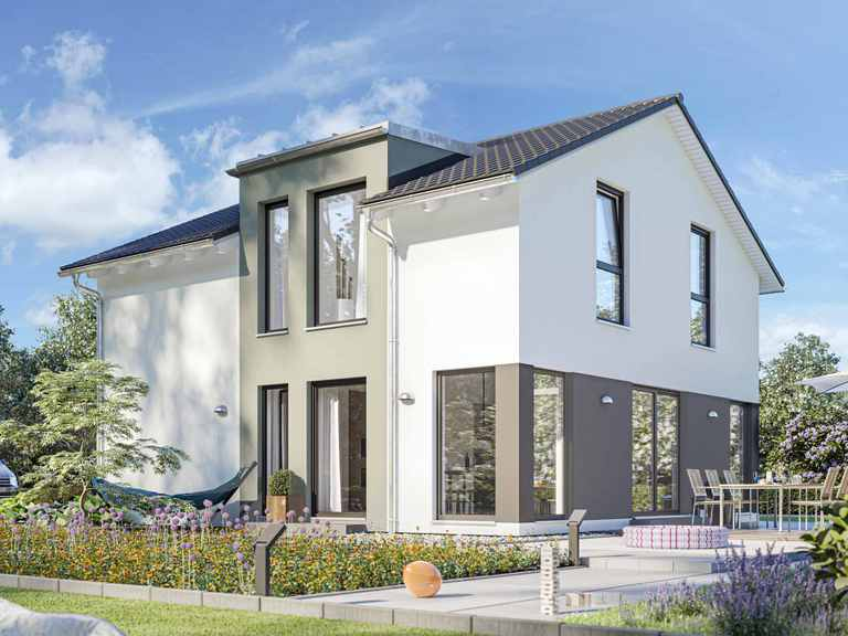 Einfamilienhaus SUNSHINE 136 V5 - Living Haus