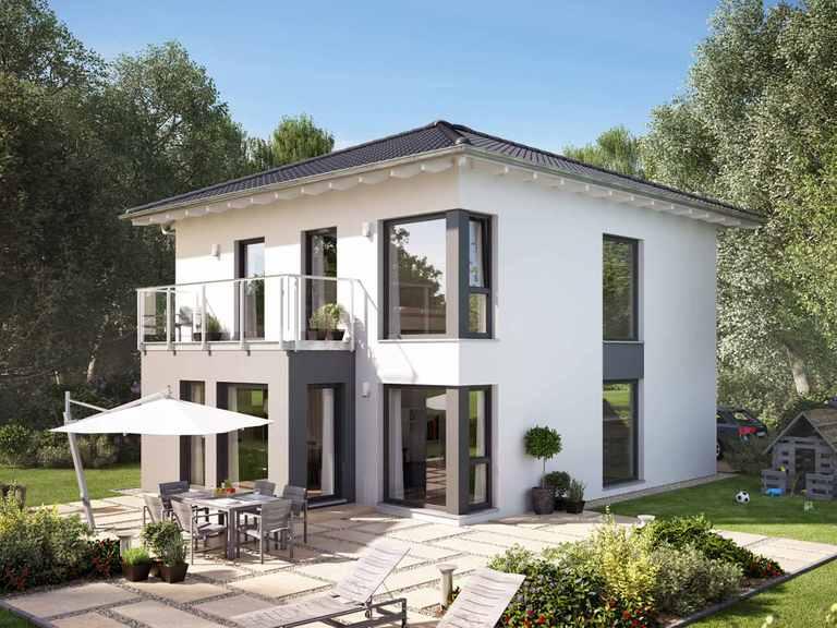 Einfamilienhaus SUNSHINE 136 V7 - Living Haus