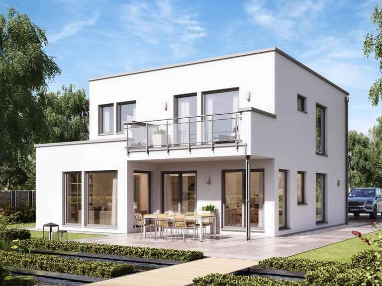 Einfamilienhaus SUNSHINE 136 V8 - Living Haus