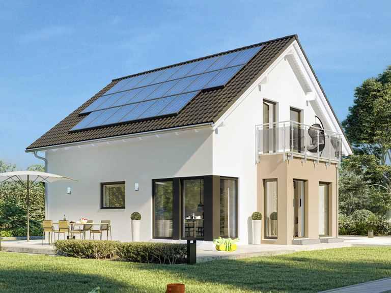 Einfamilienhaus SUNSHINE 136 V2 - Living Haus