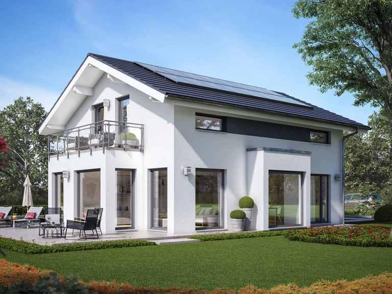 Einfamilienhaus SUNSHINE 143 V4 - Living Haus