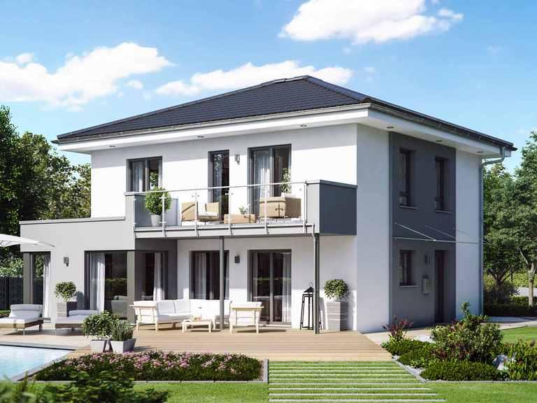 Einfamilienhaus SUNSHINE 143 V6 - Living Haus
