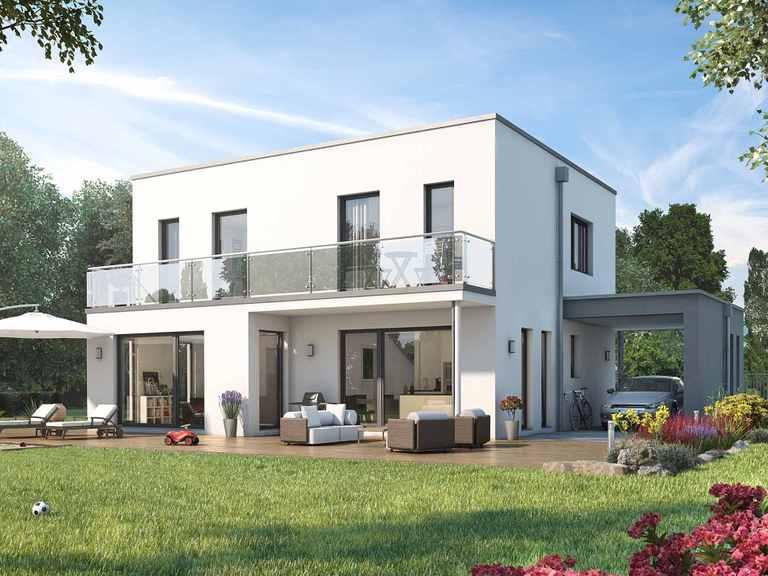 Einfamilienhaus SUNSHINE 143 V7 - Living Haus