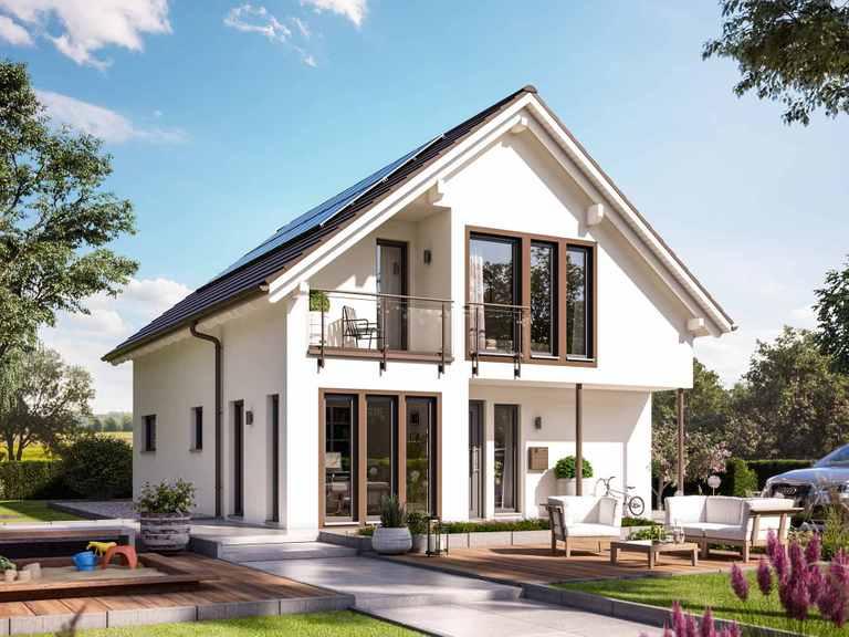Einfamilienhaus SUNSHINE 144 V2 - Living Haus