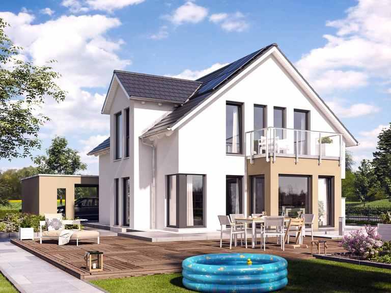Einfamilienhaus SUNSHINE 144 V3 - Living Haus