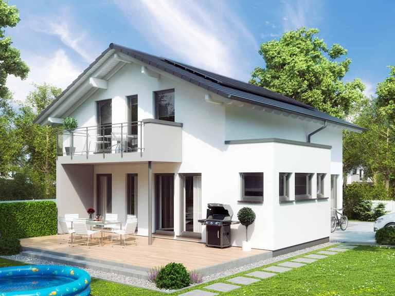 Einfamilienhaus SUNSHINE 144 V5 - Living Haus